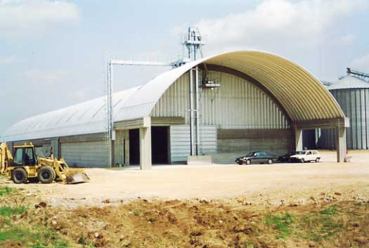 un silos orizzontale...