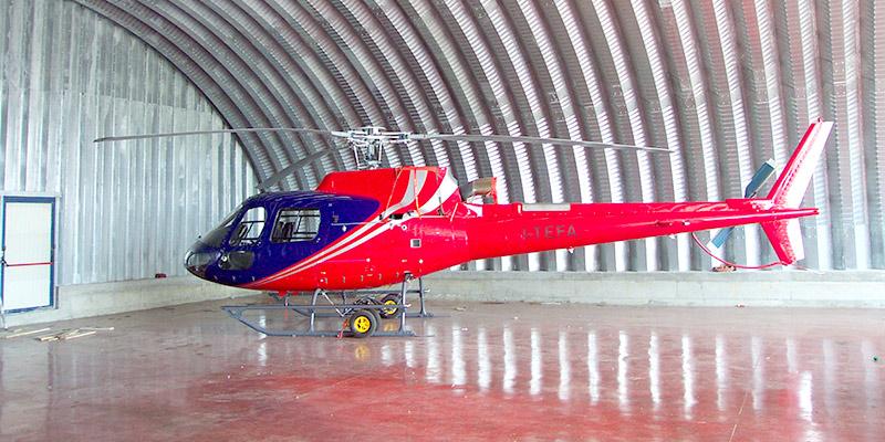 hangar-sized